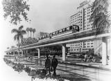 Proposed Hollywood elevated train