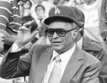 Sinatra at the Dodger's game