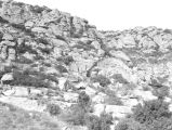 Santa Susana Mountains cliffs