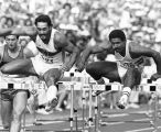 Daley Thompson in action