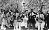 Gina Hemphill carries Olympic torch