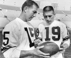 Starr and Unitas in Pro Bowl