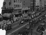 Cole Bros. Circus parade