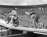 Knievel practices for exhibition