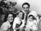 Irving G. Thalberg and his family