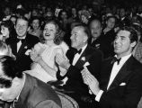 Noel Coward in audience