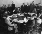 S.E.R.A. Relief officials in conference