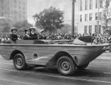 Amphibious jeep, War Chest parade