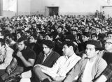 Brown Beret audience at auditorium