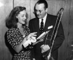 Bette Davis and Tommy Dorsey