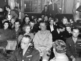 Sgt. Haynes honored at the Hollywood Canteen