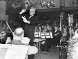 Leopold Stokowski at the Hollywood Canteen