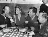 Dinah Shore at the Hollywood Canteen