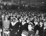 Crowd at the Hollywood Canteen