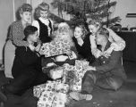 Santa at the Hollywood Canteen