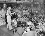 Desi Arnaz at the Hollywood Canteen