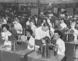 Women employees of Collins Radio Company