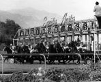 Starting gate at Santa Anita