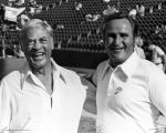 Carroll Rosenbloom and Don Shula