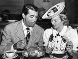 Cary Grant and Phyllis Brooks