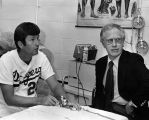 Tommy John and Dr. Frank Jobe