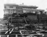 Mansion being razed