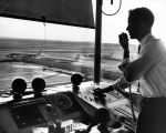 Air traffic controller at LAX