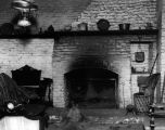 Avila Adobe fireplace
