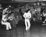 Carmen Amaya performs at Hollywood Canteen