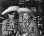 Jorge Negrete and Chaflan in scene together