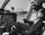 LAPD officer and helicopter pilot, Lewis Peake