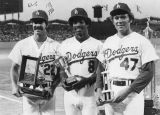 Dodger awards winners