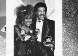 Tina Turner and Lionel Ritchie at Grammys