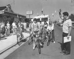 Bicycle race to Oklahoma City