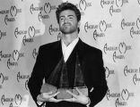 George Michael with awards