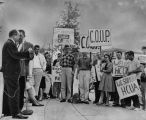 Student group supports HUAC hearings held in Los Angeles