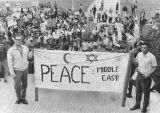 Rally for peace in the Middle East
