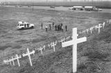 Crosses along Interstate 5