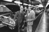 Congressman Hawkins at Ford plant