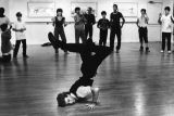 Tony Sleznick, breakdance instructor