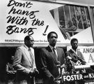 Anti-gang billboard unveiling