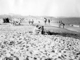 Bathers on Cabrillo Beach