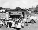 Bookmobile at Stonehurst School