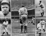 Babe Ruth, a collage
