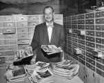 Al Greene and his photograph collection