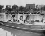 Boating in MacArthur Park