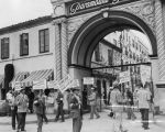 Picket line at Paramount Pictures 1945