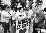 AIDS protest in Orange County