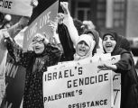 Moslem protest of Israel; Jewish protest of PLO