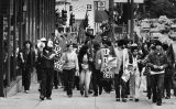 May Day parade march, 1980